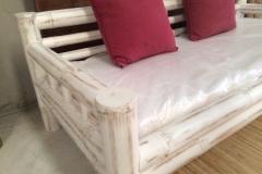 Sofas Balines Blanco Bambu