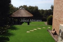 Pergola de Junco Africano Castelldefels 2