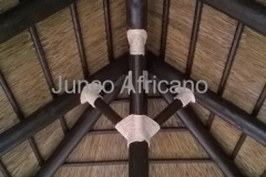 Union Pergola de Junco Africano