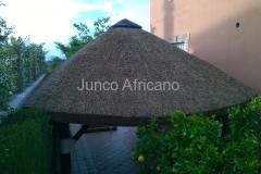 Pergola de Junco Africano en Granada 2