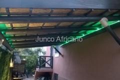 Interior Cubierta de Junco Granada