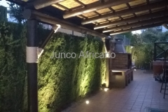 Union con Cuerda Decorativa Pergola de Junco