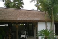 Detalle Lateral Pergola Junco Africano Marbella