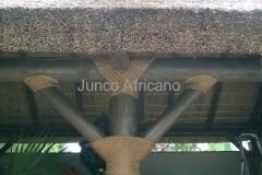 Detalle de Nudo Decorativo Pergola de Junco Los Monteros