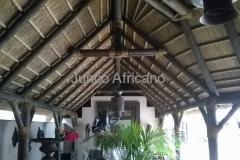 Detalle de Pergola Interior Junco Africano Marbella