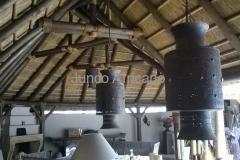 Detalle Interior Junco Africano Marbella