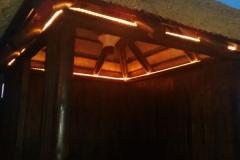 Iluminación Leds Kiosko de Madera Murcia