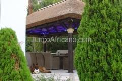 Villa con Pergola de Junco Africano