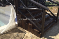 Escalera de Madera IPE Otura
