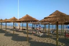 Sombrillas de Junco Africano Marbella