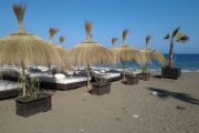 Sombrillas de Carrizo Laguna Village